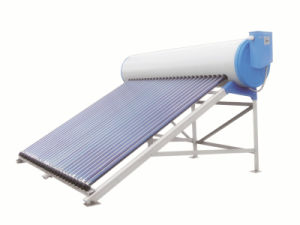 High Pressure Solar Water Heater with Assistant Tank pictures & photos