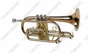 High Grade Cornet (CO-655L) / Brass Instrument Cornet pictures & photos