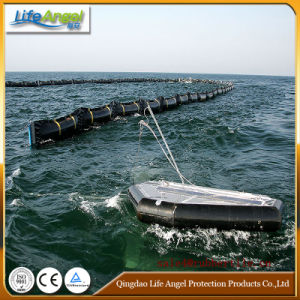 Solid Float PVC Oil Boom/Oil Spill Boom /PVC Oil Containment Boom Rubber Oil Boom pictures & photos