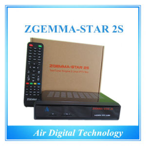 Zgemma-Star 2s Enigma2 Twin Tuner DVB S2 HD Satellite Receiver pictures & photos