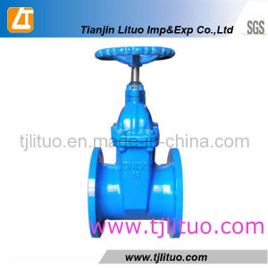 DIN3352 F4 Duvtile Iron Resilient Gate Valve pictures & photos