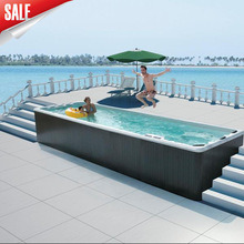 10+ People Outdoor Hot Sale Hydro Swim Pool SPA pictures & photos