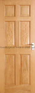 Oak 6-Panel Engineered Wood Door (CD-0309)