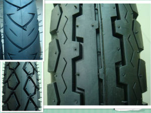 60% Rubber Quality Motorcycle Tire (360H18 for Venezuela market) (own factory) pictures & photos