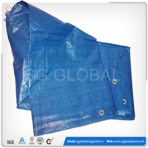 Qingdao Factory Coated PE Blue Truck Cover with UV pictures & photos
