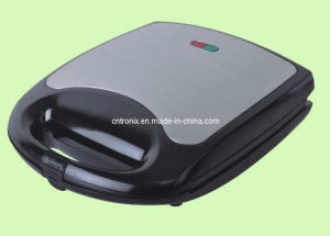 4 Slice 3 in 1 Sandwich Maker with Stainless Steel House, CE, GS, RoHS
