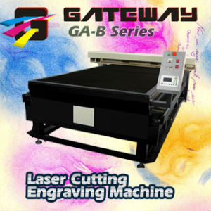 Laser Flat Bed GA-B1318H With Ballscrew