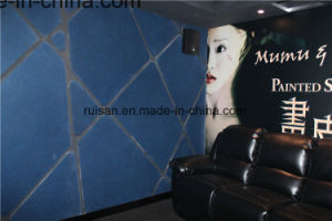 9mm Acoustic Panels Used in Movie Theater pictures & photos