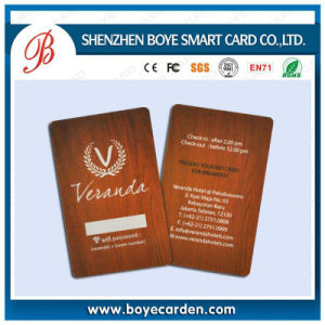 ISO 125kHz T5577 RFID ID Card with Serial Code Printing pictures & photos