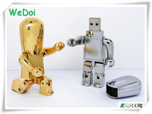 New Robot USB Memory Stick with Customized Logo as Promotional Gift (WY-M56) pictures & photos