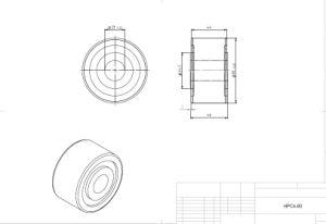 Hpve80, Heavy Duty Stud, Idler-Rollers, Load Runners, Osborn Design Bearing, Cam Runner