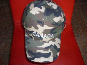 100% Cotton Camouflage Cap (HXH0034)