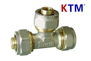 Brass Pipe Fitting - Equal Tee pictures & photos