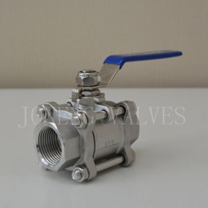 Stainless Steel Food Grade Three Piece Female Ball Valve pictures & photos