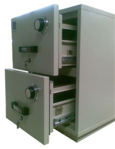 Fire Resistant Filling Cabinet (FRD750-20) , 2 Drawers Vertical Data Cabinet pictures & photos