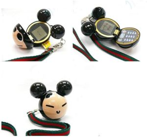 Guccidoll Tri-Band Chinese Characteristic Flip Doll Cellphone with Bluetooth MP3/4