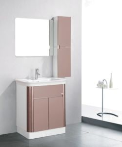 China Factory Flooring Mounted PVC Bathroom Cabinet