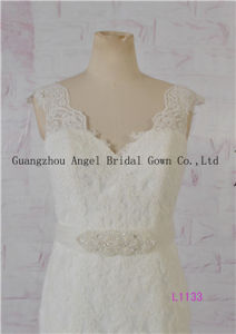 Famous Brand Angel Bridal Factory Direct Sale Mermaid Wedding Dress pictures & photos