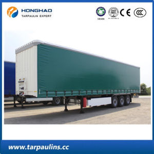 PVC Kinfe-Coated High Strength Tarps/Tarpaulins for Truck Cover pictures & photos