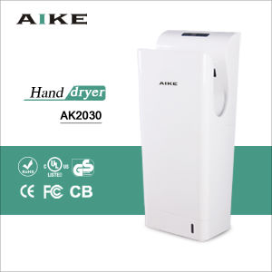 Dual jet with UV light HEPA filter automatic hand dryer pictures & photos