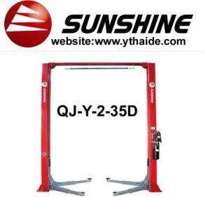 2 Post Lift, Double Cylinder Hydraulic Lift (QJ-Y-2-35D)
