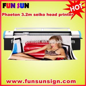 Phaeton Ud-3208q 3.2m Flex Banner Printer with 8 Seiko510/35pl Heads pictures & photos