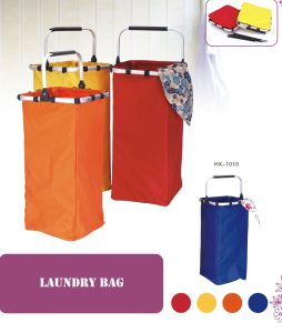 Good Quality Laundry Basket with Aluminum Handle (HX-1010) pictures & photos