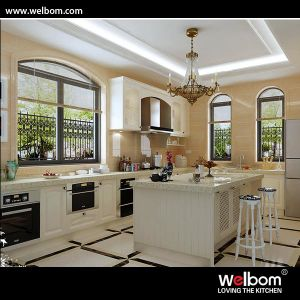 2015 Welbom American Oak Material Modular Kitchen Designs pictures & photos
