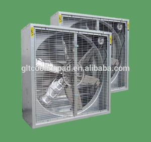Automatic Shutter Axial Flow Exhaust Fan of Galvanized Sheet pictures & photos