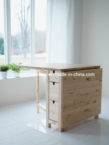 Solid Wood Folding Table (SSF002)