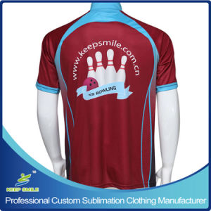 Custom Sublimation Printing Sporting Bowling Jerseys pictures & photos