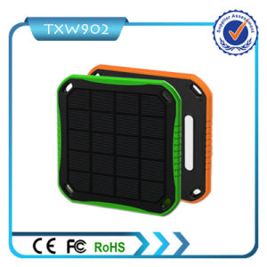 Rectangle Battery 5600mAh Solar Power Bank USB Charger