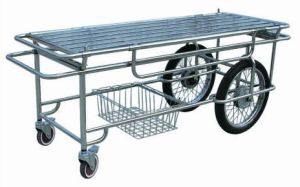 Stainless Steel Hospital Stretcher Trolley for Patient Transfer (G-4) pictures & photos
