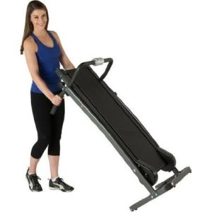 Treadmill Portable Folding Incline Cardio Fitness Exercise Manual Jogger pictures & photos