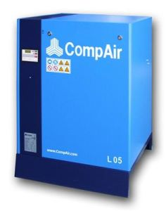 L05, Compair Screw Compressor, Rotary Screw Compressor, Lubricated Type Compressor, Oil Injected Compressor