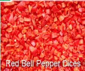IQF Bell Pepper, Brc, HACCP, FDA, Kosher, ISO, Gap