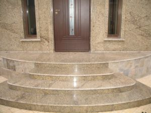 Wholesale Building Material Grey/Red/White/Black Granite Circular/Spiral/Curved Staircase/Stairs pictures & photos