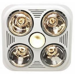 4 Lights Bathroom Heater