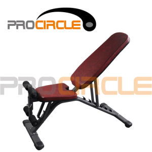 Crossfit Gym Equipment Flat Adjustable Sit up Bench (PC-SE1003) pictures & photos