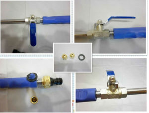 High Pressure Water Spray Gun (WJ) pictures & photos