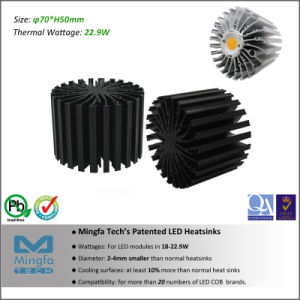 LED Heat Sink for Branded LED Modules (Dia: 70mm H: 50mm)
