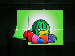 Huasun New Galaxis-4 4.6875mm 4mm Flexible LED Screen pictures & photos