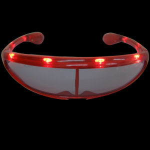 Windproof Goggles LED Flashing Fashion Sunglasses (QY-LS011) pictures & photos