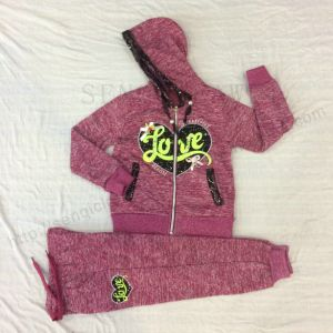 Girl Children′s Sports Suit in Kids Clothes Sq-6665 pictures & photos