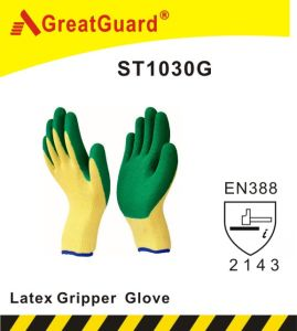 Glass Gripper Glove (ST1030Y) pictures & photos