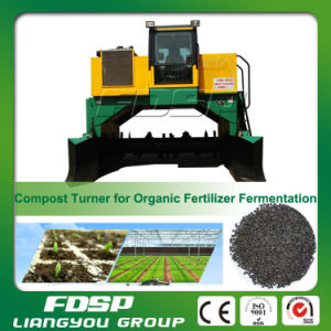 Hot Sale Animal Manure Compost Turner Without Smelly Gas pictures & photos