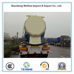 40m3 Bulk Cement Tanker Trailer of Semi Trailer with 3 Fuwa Axles pictures & photos
