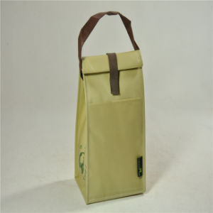 PP Non Woven Cooler Lunch Bag with Handle (MECO309) pictures & photos