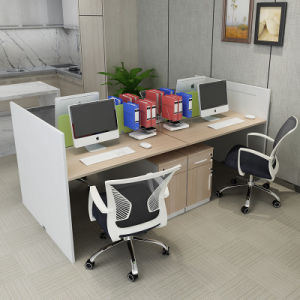 Office Workstation for Stystem Office Use in Wooden pictures & photos