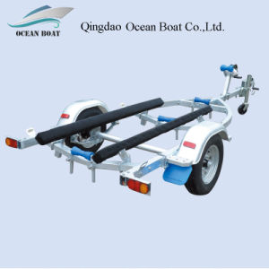 Dyz330b High Quality Low Price Trailer for 4.2m Runabout Boat